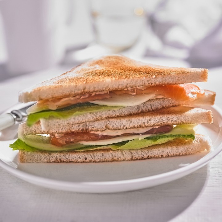 Сэндвич с рыбой